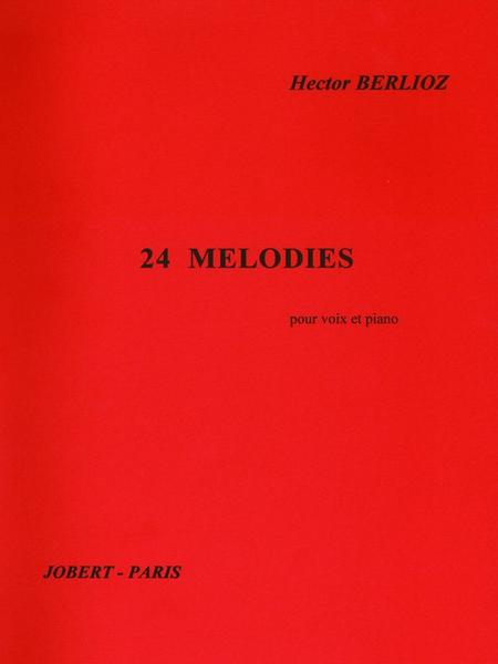 24 Melodies - Chant (Mezzo-Soprano ou Baryton) et Piano