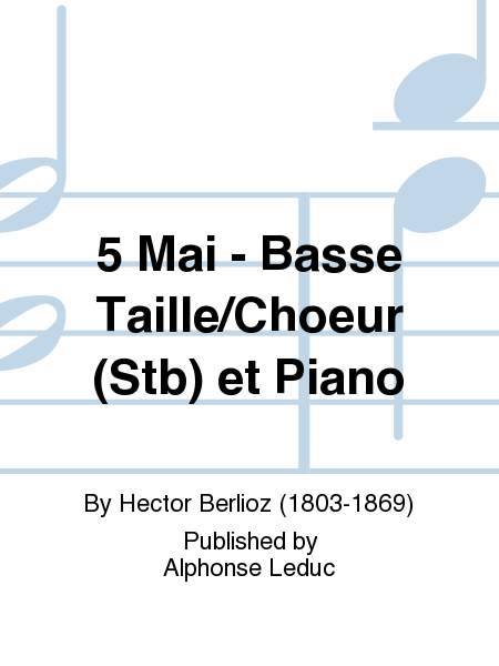 5 Mai - Basse Taille/Choeur (Stb) et Piano
