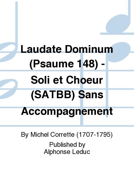 Laudate Dominum (Psaume 148) - Soli et Choeur (SATBB) Sans Accompagnement