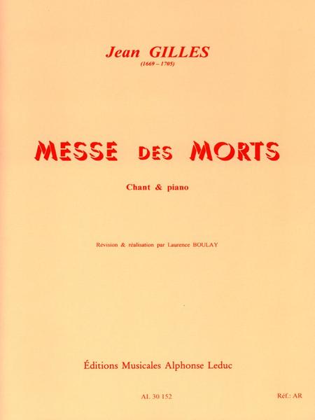 Messe Des Morts (Requiem) - Soli/Choeur (SATBB) et Piano