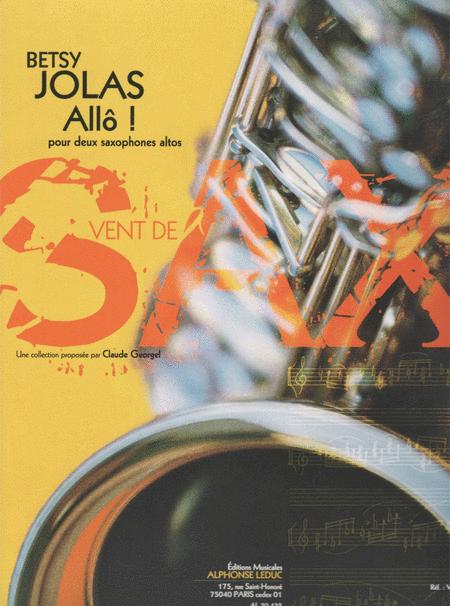 Allo ! - 2 Saxophones Mib