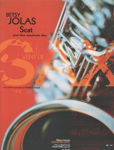 Scat - 2 Saxophones Mib
