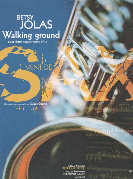 Walking Ground - 2 Saxophones Mib