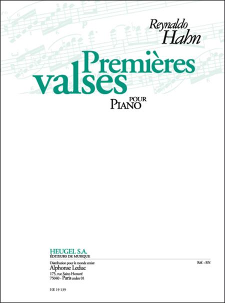Premieres Valses - Piano