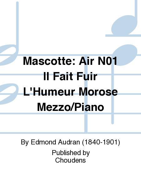 Mascotte: Air N01 Il Fait Fuir L'Humeur Morose Mezzo/Piano