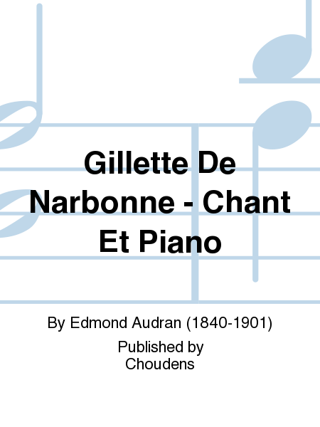 Gillette De Narbonne - Chant Et Piano