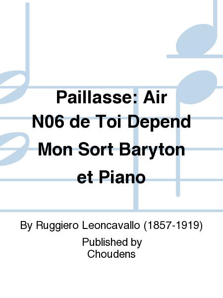 Paillasse: Air N06 de Toi Depend Mon Sort Baryton et Piano