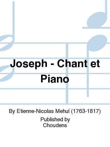 Joseph - Chant et Piano