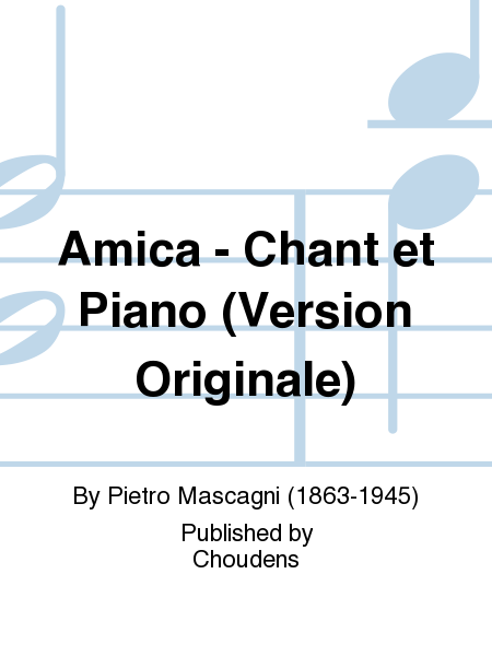 Amica - Chant et Piano (Version Originale)