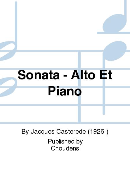 Sonata - Alto Et Piano