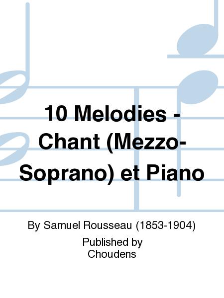 10 Melodies - Chant (Mezzo-Soprano) et Piano
