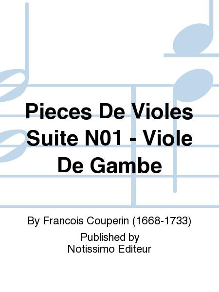 Pieces De Violes Suite N01 - Viole De Gambe