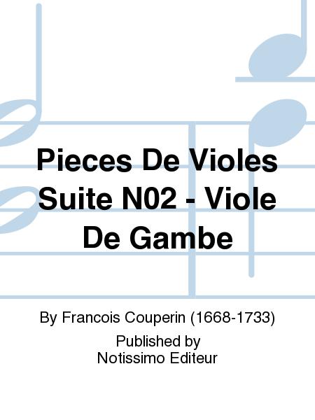 Pieces De Violes Suite No.2 - Viole De Gambe