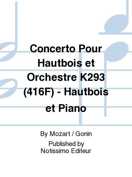 Concerto Pour Hautbois et Orchestre K293 (416F) - Hautbois et Piano