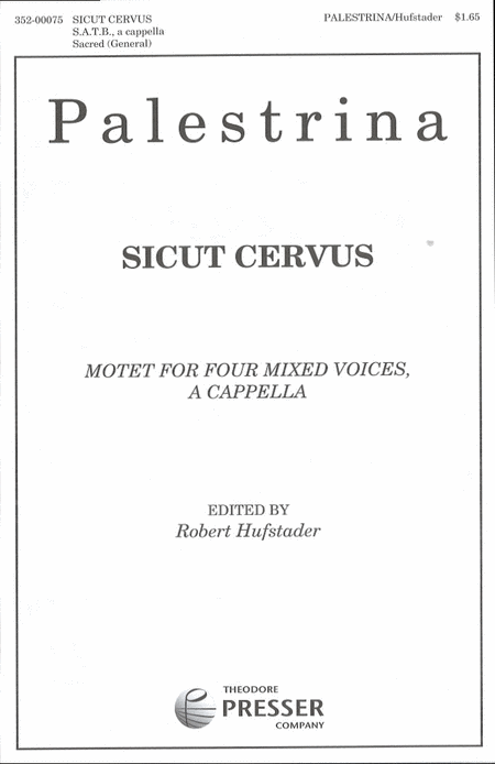 Sicut Cervus