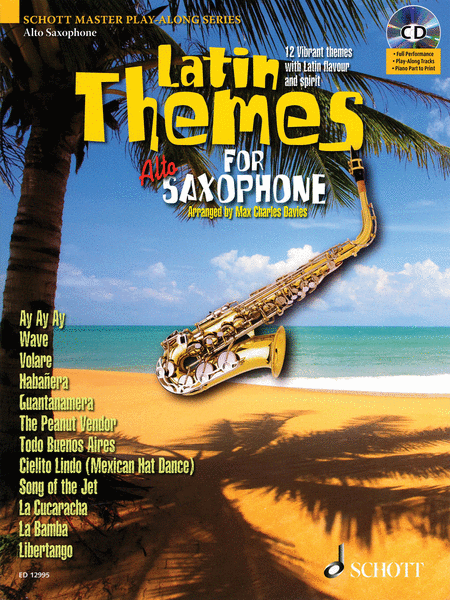 Latin Themes for Alto Saxophone