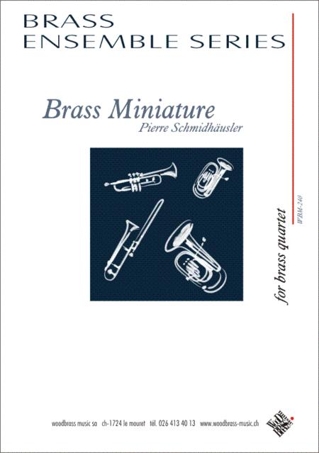 Brass Miniature
