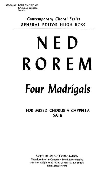 Four Madrigals