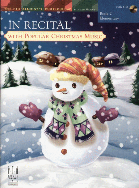 In Recital! with Popular Christmas Music, Book 2