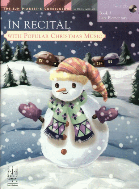 In Recital! with Popular Christmas Music, Book 3