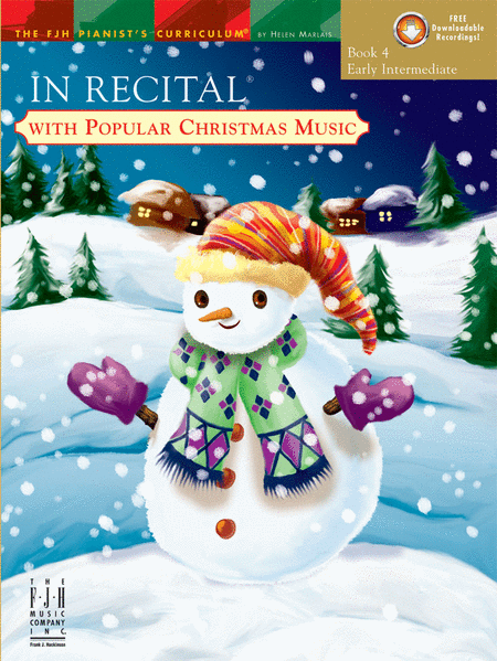 In Recital! with Popular Christmas Music, Book 4