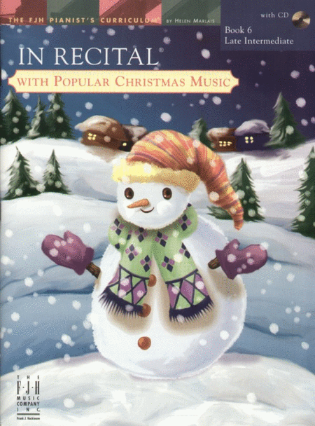 In Recital! with Popular Christmas Music, Book 6