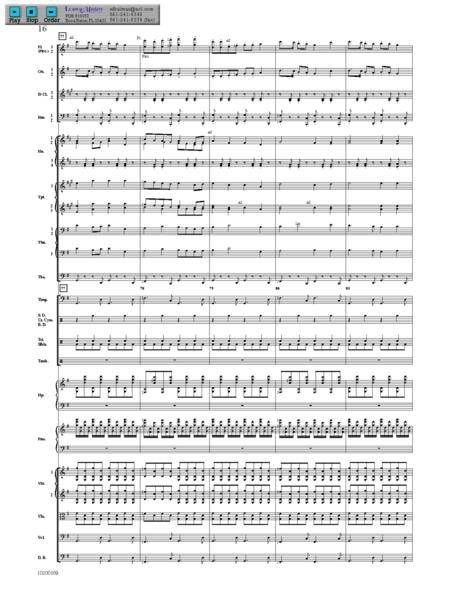Somerset Overture - Score & Parts