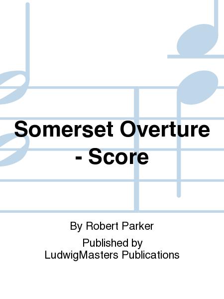 Somerset Overture - Score
