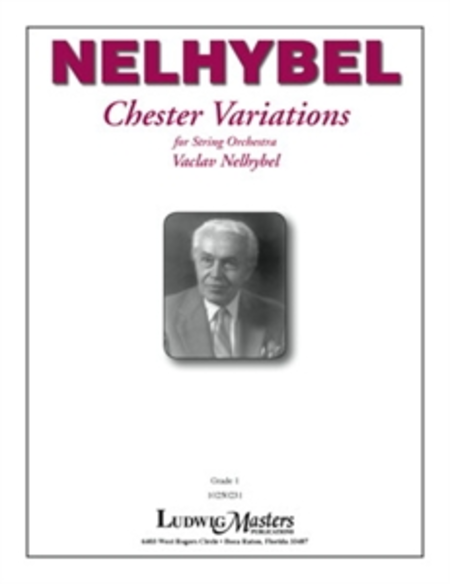 Chester Variations for String Orchestra