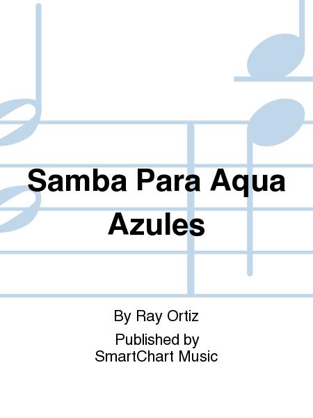 Samba Para Aqua Azules