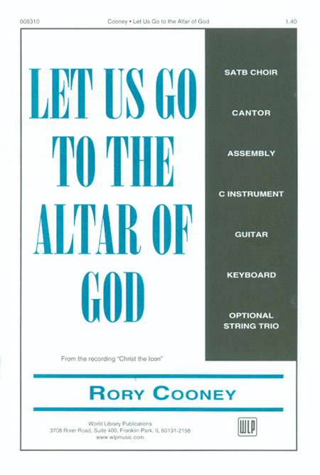 Let Us Go to the Altar of God