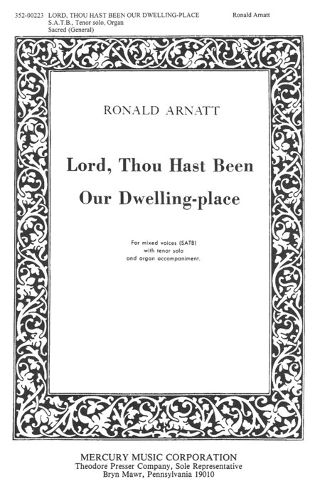 Lord, Thou Hast Been Our Dwelling Place