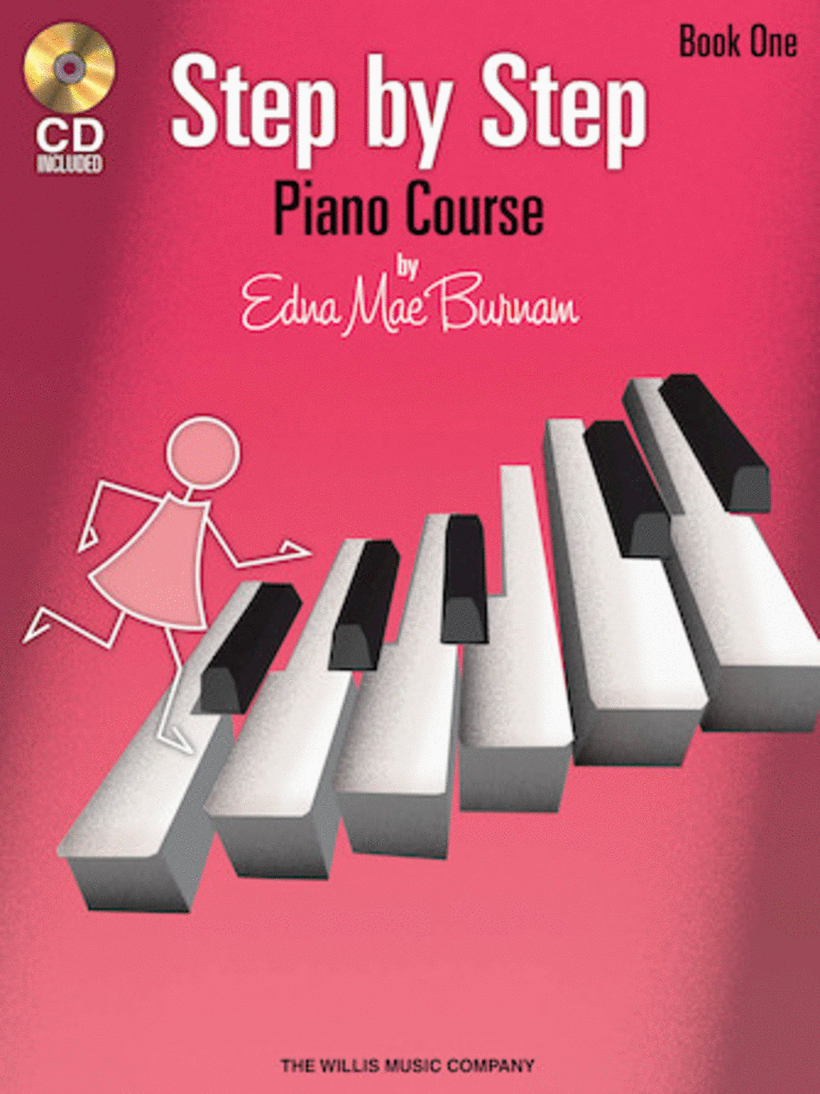 Step by Step Piano Course - Book 1 with CD