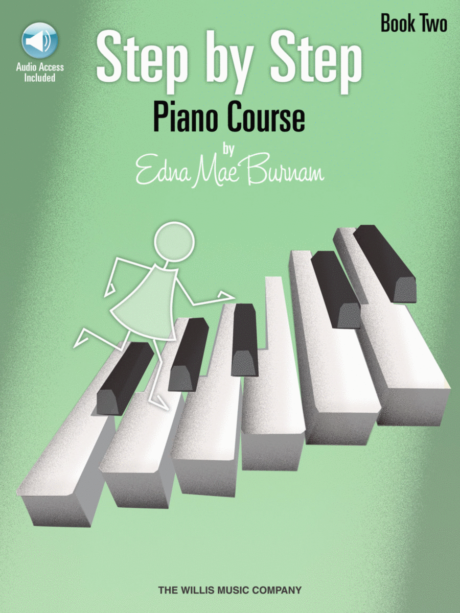 Step by Step Piano Course - Book 2 with CD