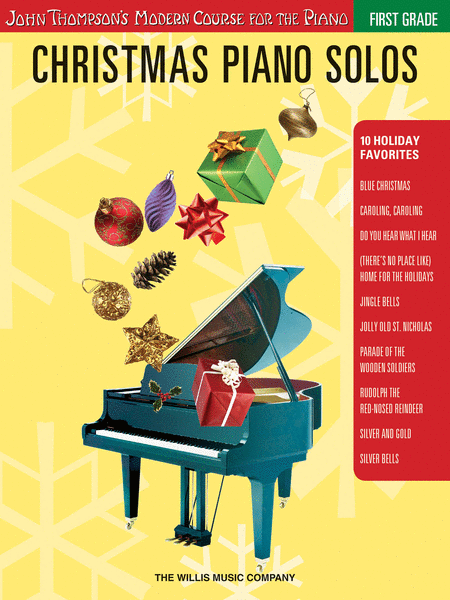 Christmas Piano Solos - First Grade (Book Only)