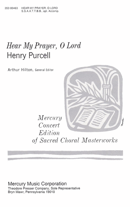 Hear My Prayer, O Lord