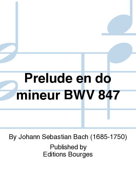 Prelude en do mineur BWV 847
