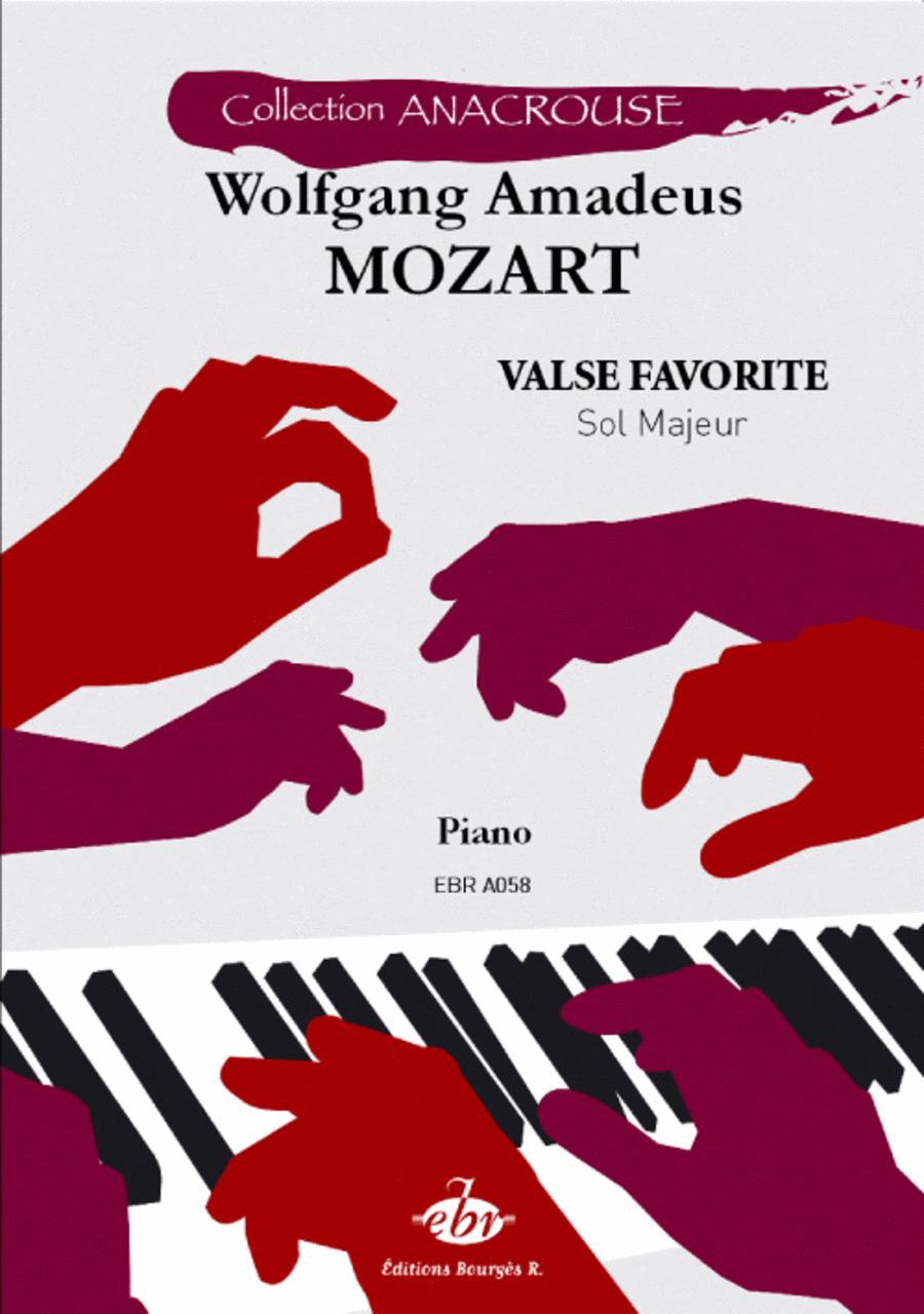 Valse favorite Sol Majeur