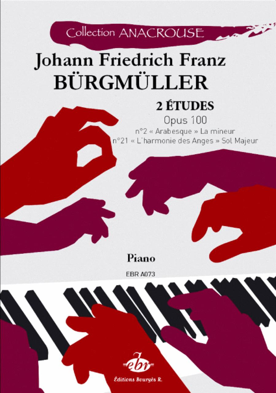 2 etudes, Opus 100