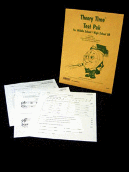 Test Pak for Middle School / High School 2B