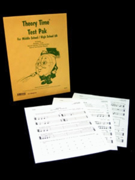 Test Pak for Middle School / High School 2A