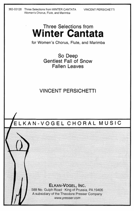 Three Selections From Winter Cantata