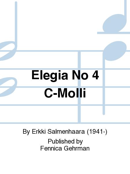 Elegia No 4 C-Molli