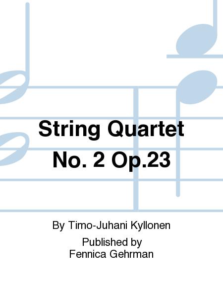 String Quartet No. 2 Op.23