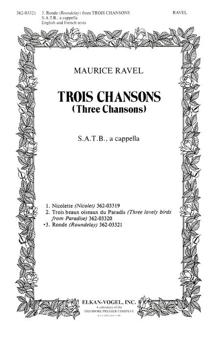 Trois Chansons