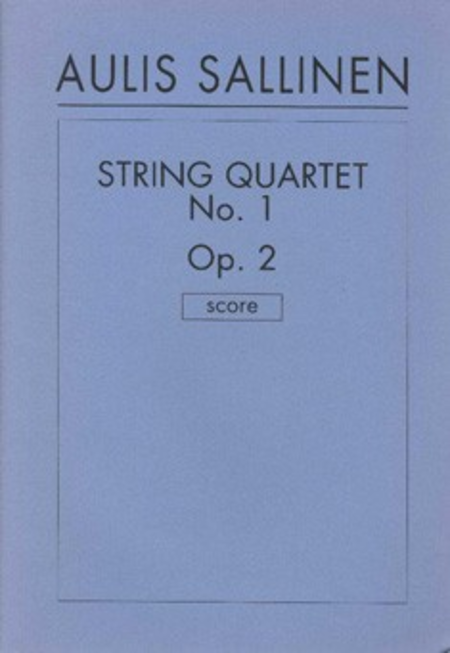 String Quartet No. 1 Op.2
