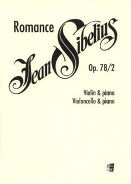 Romance Op. 78 / 2 F