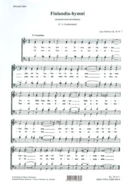 Finlandia-Hymni Op. 26 / 7