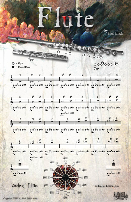 Instrumental Poster Series - Flute