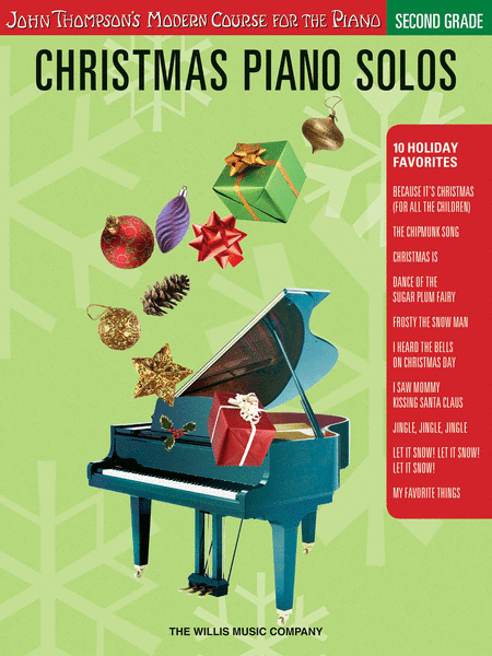Christmas Piano Solos - Second Grade (Book Only)